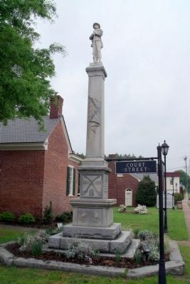Mathews County Confederate Monument Photo, Click for full size