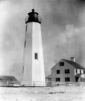New Point Comfort Lighthouse Photo, Click for full size