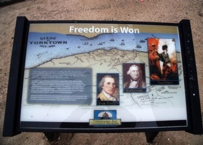 Freedom is Won Marker image. Click for full size.