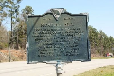Horrell Hill Marker image. Click for full size.