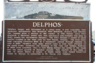 Delphos Marker Photo, Click for full size