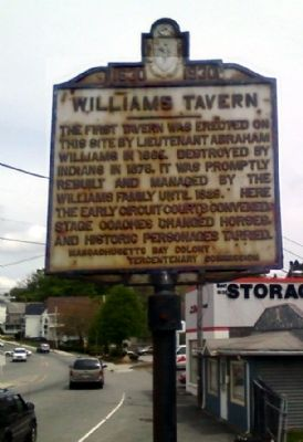 Williams Tavern Marker image. Click for full size.