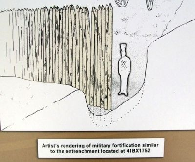 Fortification Drawing on Marker image. Click for full size.