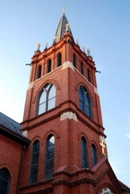 St Mary's Catholic Church Main Spire image. Click for full size.