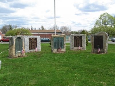 Goshen Veterans Monuments Photo, Click for full size