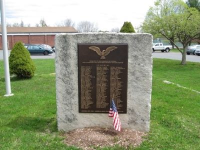 Goshen Civil War Monument image. Click for full size.