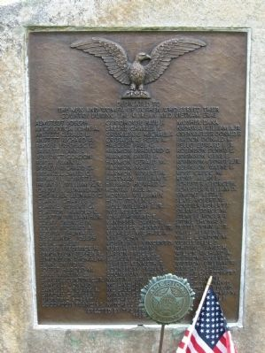 Goshen Korean War and Vietnam War Monument image. Click for full size.