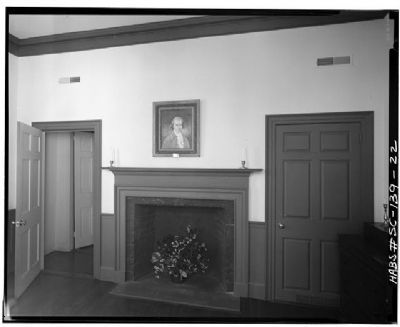 Verdier House Northeast room, first floor image. Click for full size.