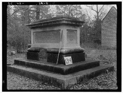 General Thomas Sumter Grave Photo, Click for full size
