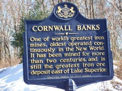 Cornwell Banks Marker image. Click for full size.