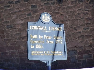 Cornwall Furnace Marker image. Click for full size.