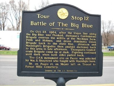 Battle of the Big Blue Marker image. Click for full size.