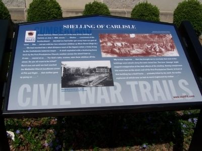Shelling of Carlisle Marker image. Click for full size.
