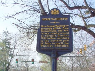 George Washington Marker Photo, Click for full size