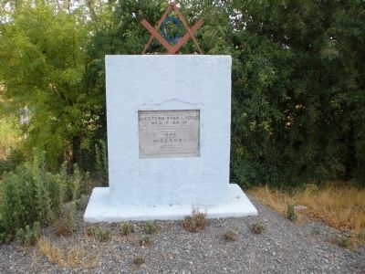 Western Star Lodge No. 2 Free and Accepted Masons Marker and Monument image. Click for full size.