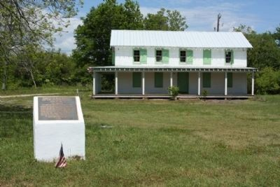 Battle of Sol-Legare Island Marker and Seashore Farmers Lodge Photo, Click for full size