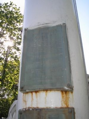 New Utrecht Liberty Pole Marker image. Click for full size.
