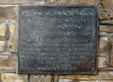 Russo Commemorative Marker image. Click for full size.
