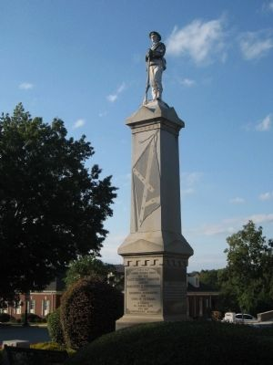 Wilkes County Confederate Memorial image. Click for full size.