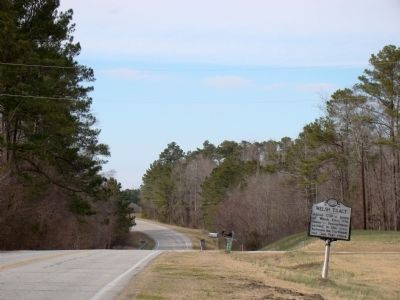 Welsh Tract Marker Photo, Click for full size