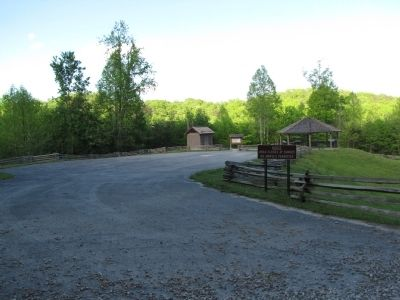 Camp Wildcat Battlefield visitor area image. Click for full size.