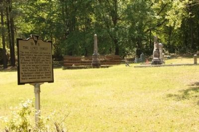 Marker and Cemetery image. Click for full size.