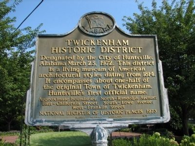 Twickenham Historical District Marker image. Click for full size.