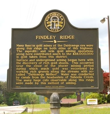 Findley Ridge Marker image. Click for full size.