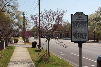 Shandon Marker, looking east image. Click for full size.