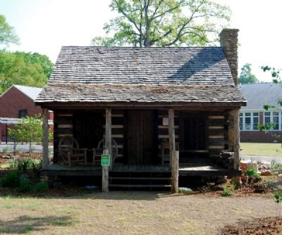 Gosnell Cabin -<br>Southwest (Front) Facade image. Click for full size.