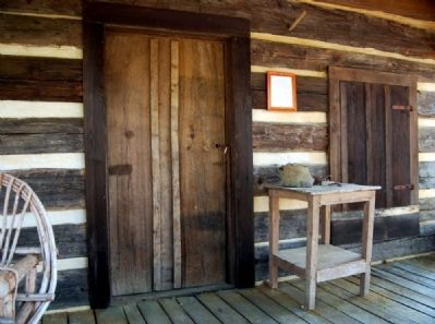 Gosnell Cabin Front Porch image. Click for full size.