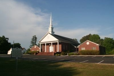New Hope Baptist Church and Marker image. Click for full size.