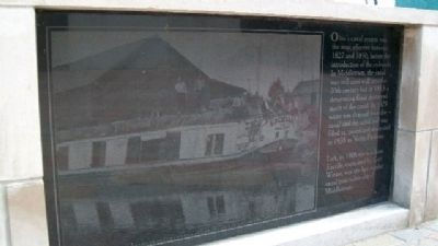 The Miami & Erie Canal in Middletown Marker Photo, Click for full size