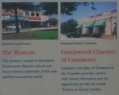 Greenwood County -<br>The Museum and Greenwood Chamber of Commerce image. Click for full size.