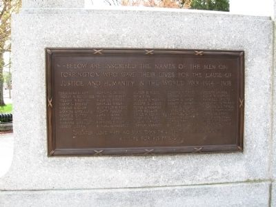 World War I Dead Plaque image. Click for full size.