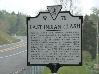 Last Indian Clash Marker image. Click for full size.