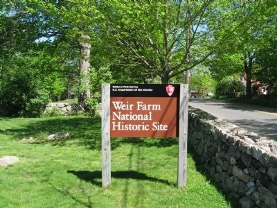 Weir Farm National Historic Site image. Click for full size.