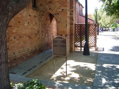 Methodist Episcopal Church of Glendale Sanctuary Marker image. Click for full size.