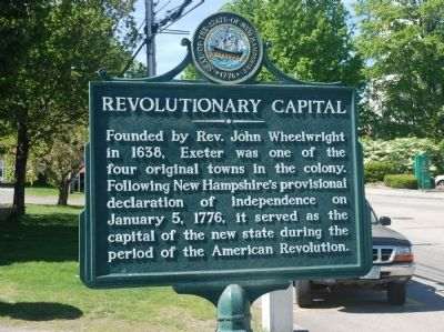 Revolutionary Capital Marker image. Click for full size.