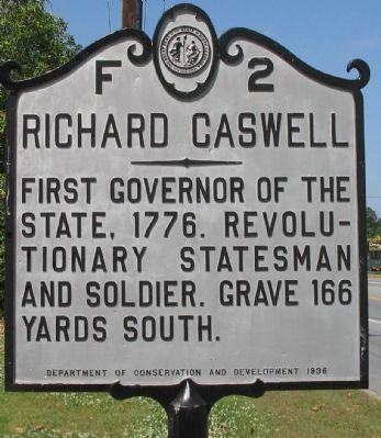Richard Caswell Marker image. Click for full size.