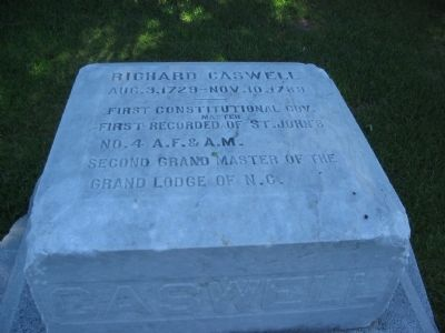 Inscription on Top of the Gravestone image. Click for full size.