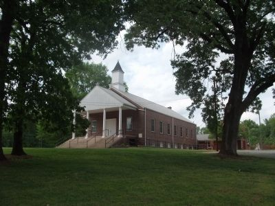 Cane Creek Meetinghouse image. Click for full size.