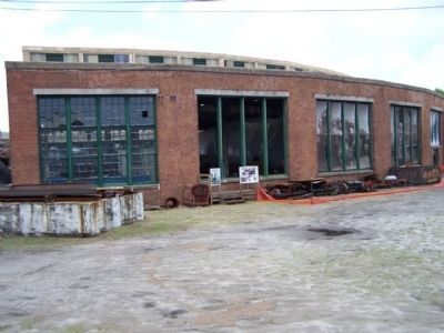 Central Of Georgia Railroad Shops image. Click for full size.