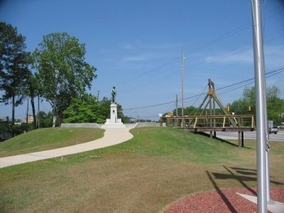 Lenoir County Confederate Memorial image. Click for full size.