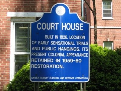 Court House Marker Photo, Click for full size