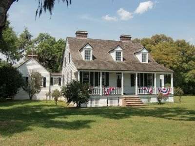 Charles Pinckney National Historic Site - Farm House seen from the south image. Click for full size.