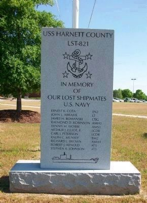 In Memory of Lost Shipmates Monument image. Click for full size.