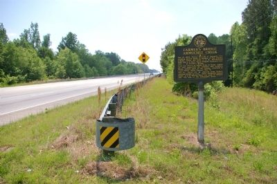Farmer�s Bridge Armuchee Creek Marker Photo, Click for full size
