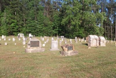 Cemetery at Cane Creek Meeting image. Click for full size.