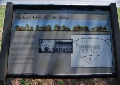 Lost Town of Cambridge Marker image. Click for full size.